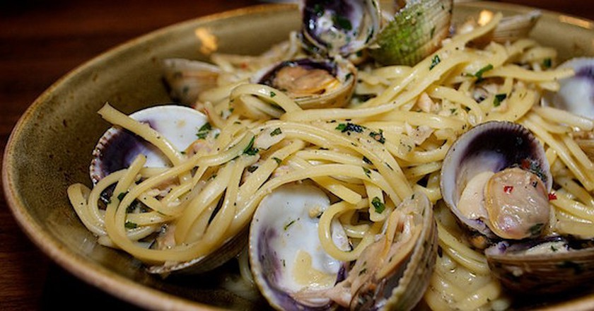 Linguini with Clams | © L.A. Foodie/Flickr