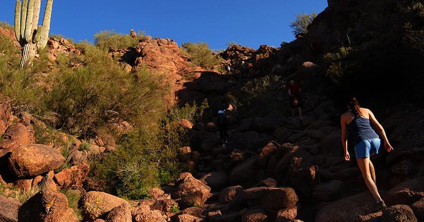 Cholla Trail at Camelback Mountain| ©Robert Body/WikiCommons