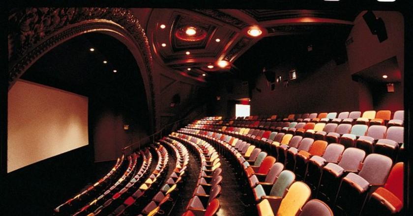 BAM Rose Cinemas Interior With Screen | Image Courtesy of BAM