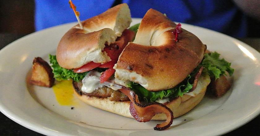 Bagel Breakfast Sandwich | ©Lorianne DiSabato/Flickr