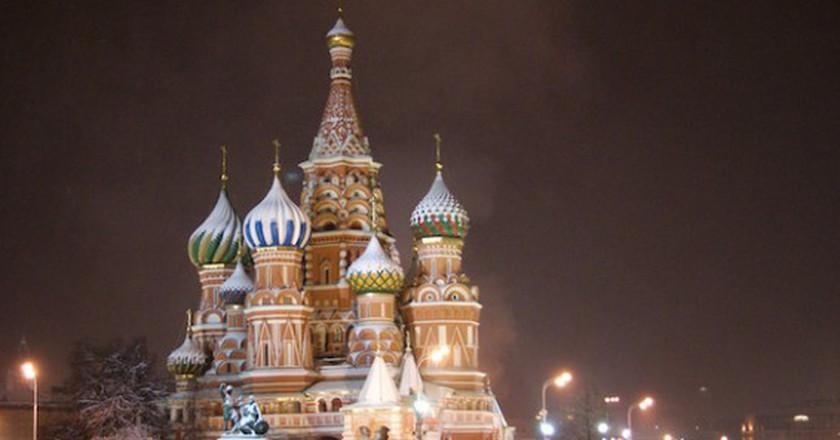 St. Basil's Cathedral in winter |©  Sergey Rodovnichenko/Flickr