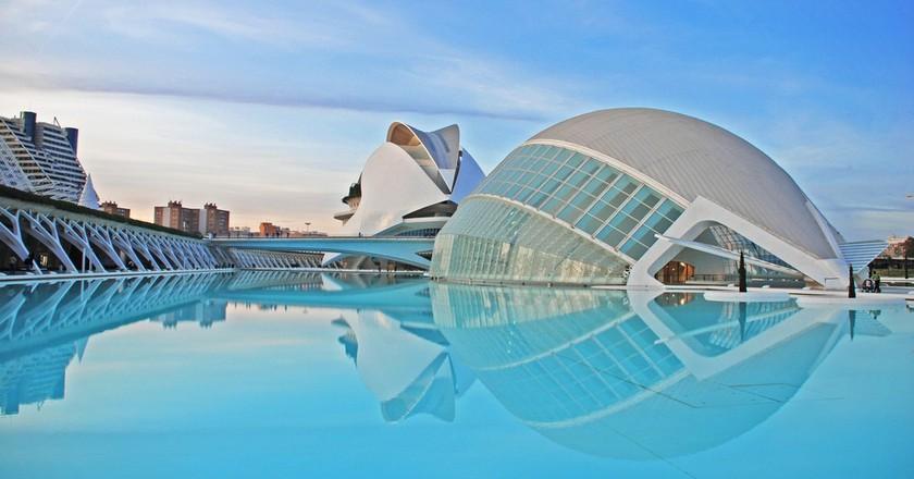 Cidade das Artes e Ciencias de Valencia | © Ka13 / Wikipedia