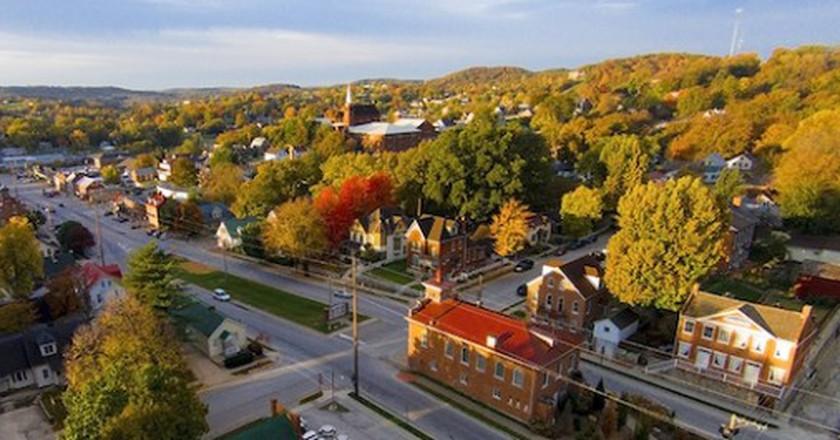 Market Street, Hermann, Missouri   © davekeiser/WikimediaCommons