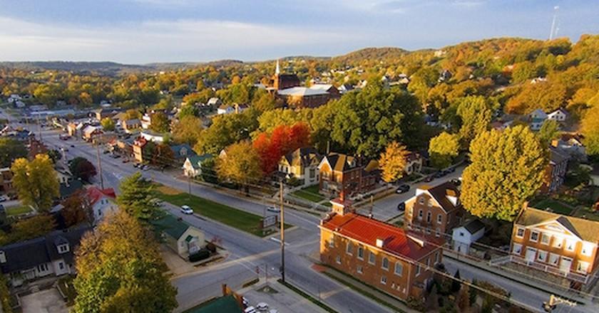 Market Street, Hermann, Missouri | © davekeiser/WikimediaCommons