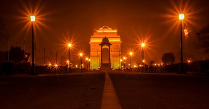 India Gate at Night   © Nashrkhan/WikiCommons