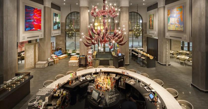 Liquid Art House Grand Art Lounge | Courtesy of Gustav Hoiland