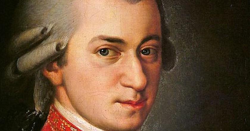Wolfgang Amadeus Mozart   Ⓒ Barbara Kraft/WikiCommons