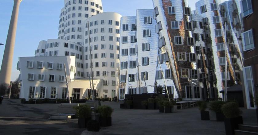 Neuer Zollhof buildings   © La Citta Vita/Flickr