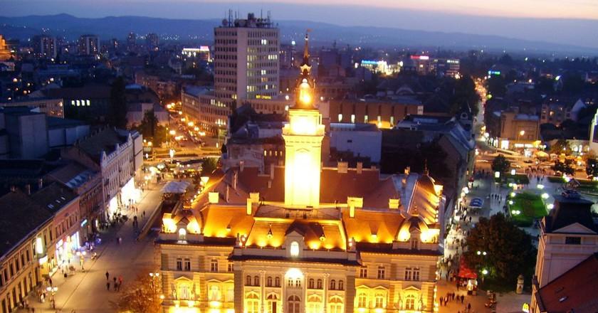 City Hall in Novi Sad   © Aleksandar Cocek/WikiCommons