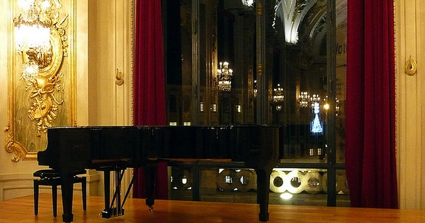 Foyer of Opéra de Lille | ©Bruno Parmentier/Flickr