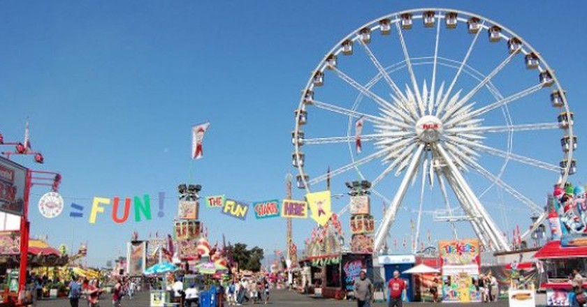 Los Angeles County Fair, Fairplex, Pomona | © Omar Bárcena/WikiCommons