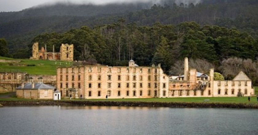 Some of Australia's first convicts were once confined to the Port Arthur penitentiary   © Martybugs/WikiCommons