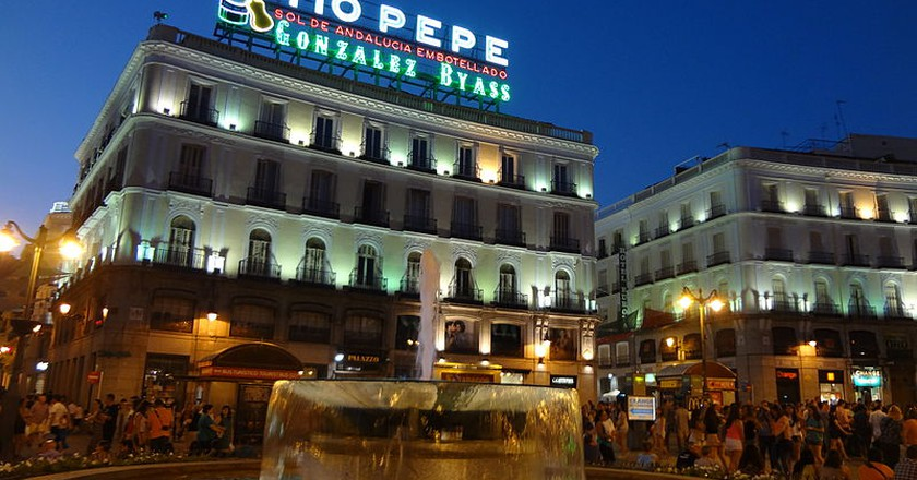 The top 10 things to do and see in puerta del sol madrid for Tio pepe puerta del sol madrid