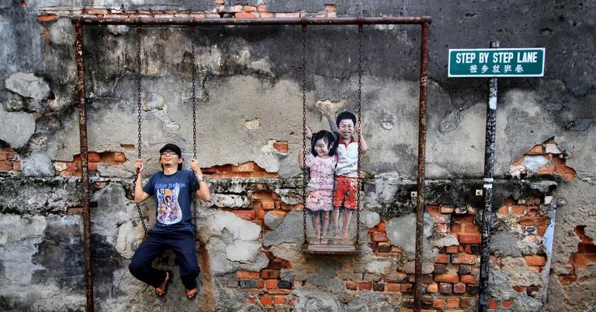 Quirky wall artwork | ©phalinn/Flickr