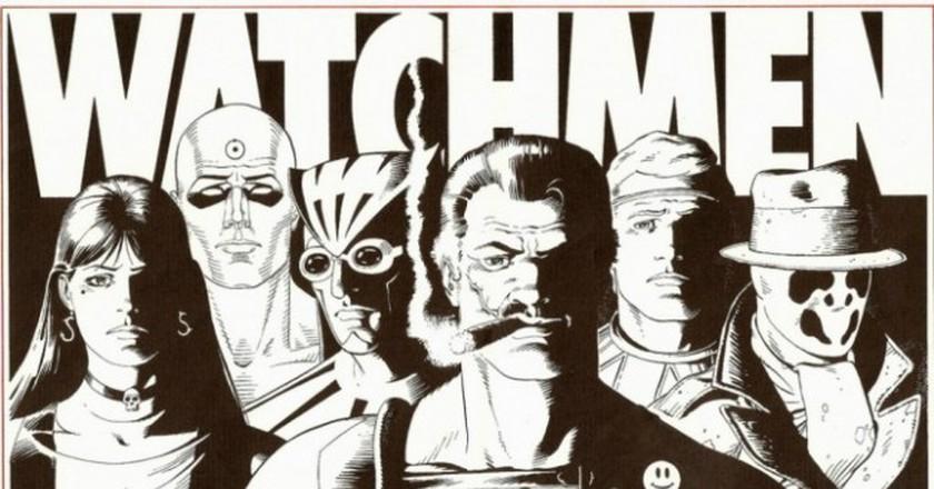 Watchmen Signed Folio | © Lord Jim