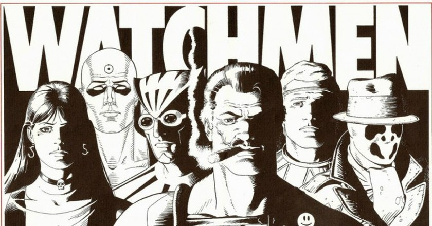 Watchmen Signed Folio | © Lord Jim