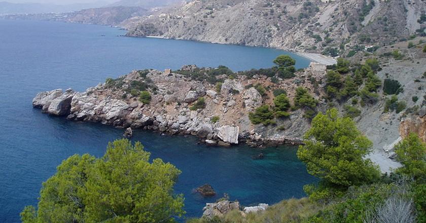 Playa del Cañuelo | © Por los caminos de Málaga/Flickr