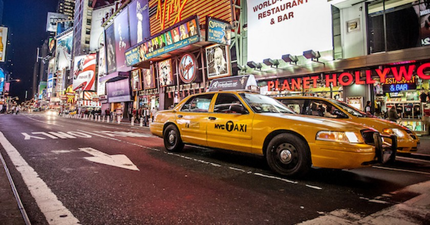 NYC TAXI | © Kenny Louie