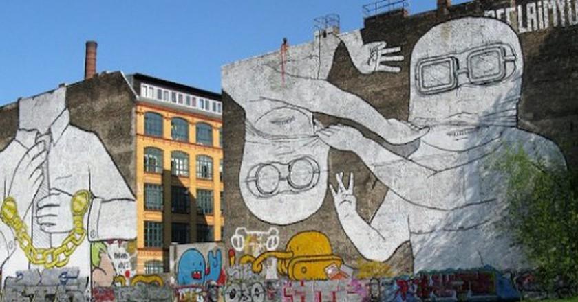 'Cuvry Graffiti' street art by Blu in Berlin-Kreuzberg | © Frank M. Rafik/WikiCommons