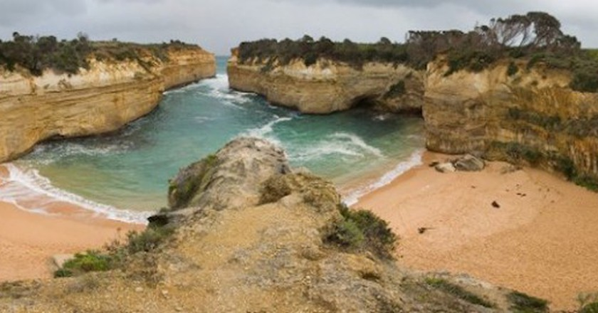 Loch Ard Gorge Panorama - courtesy Wikipedia