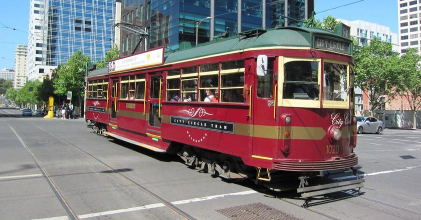 City Circle Tram in Melbourne   © Terrazzo/Flickr
