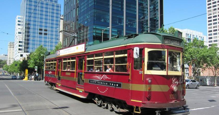 City Circle Tram in Melbourne | © Terrazzo/Flickr