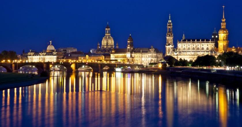 Dresden from Albertbrücke   © Jiuguang Wang/WikiCommons