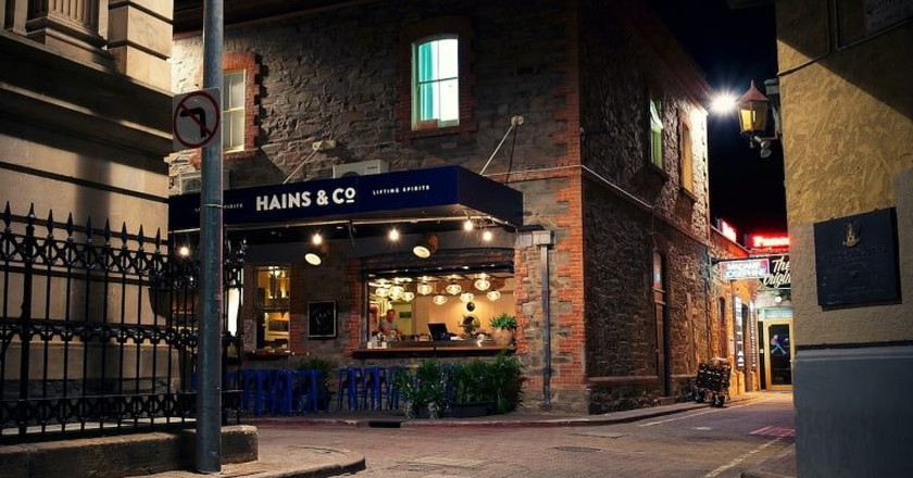Hains & Co exterior   © Courtesy of Hains & Co