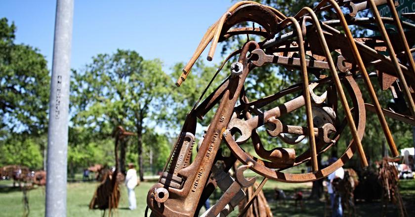 Bayou City Art Festival at Memorial Park | © Derek Key/Flickr