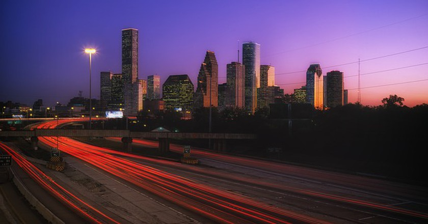 Houston sunset sky | © tpsdave/Flickr