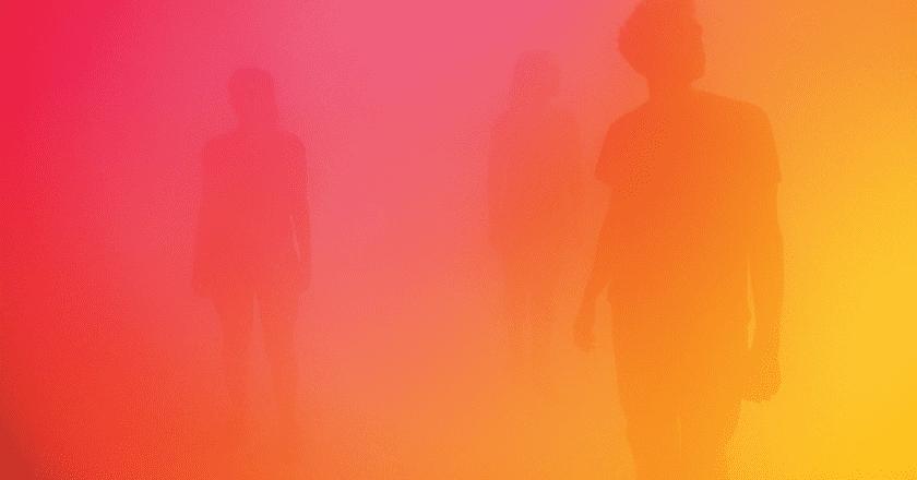 Ann Veronica Janssens - yellowbluepink, 2015 | © Wellcome Collection