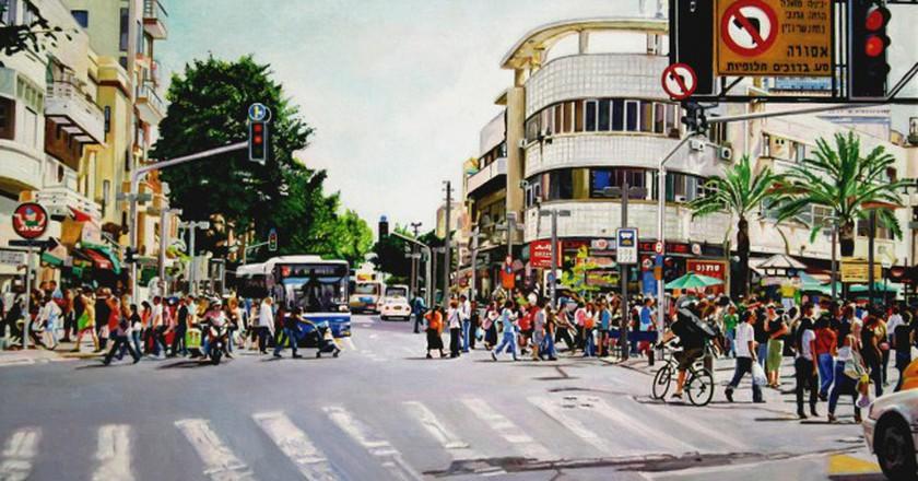 Allenby Street Tel Aviv | © Google