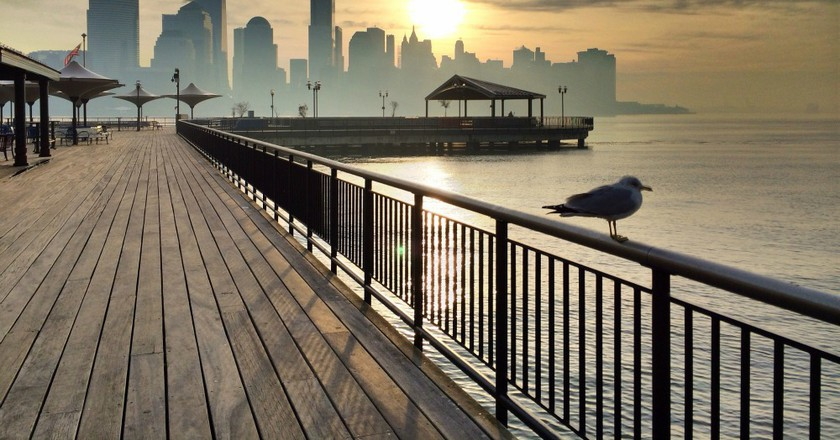 The Hudson River Waterfront Walkway