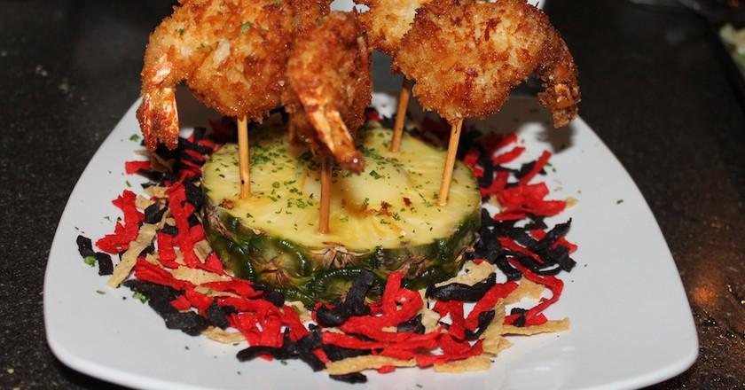 Coconut Fried Shrimp| © Julie Havelka