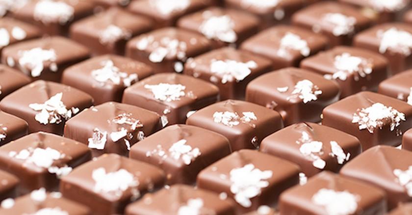 Dorinda's sea salt caramels | Courtesy of Dorinda's Chocolates