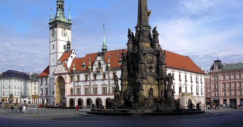 Olomouc town center   © Dominik Tefert/WikimediaCommons