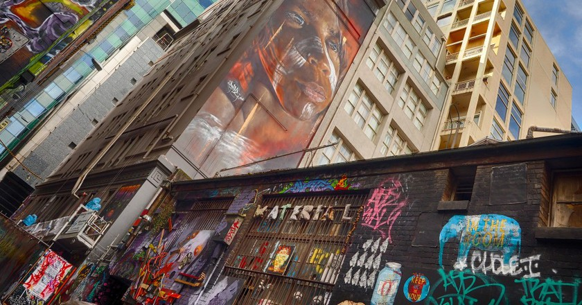 Street Art by Adnate | © Derek Midgely/Flickr