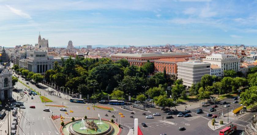 View to the east from Palacio de Cibeles   ©  Jose Antonio Moreno Cabezudo