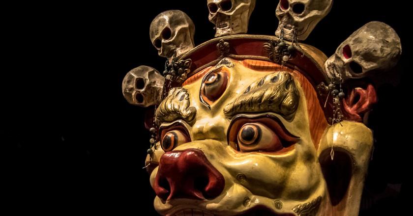 Mask: Sendom (Mongolia) | © Andrew Moore/Flickr