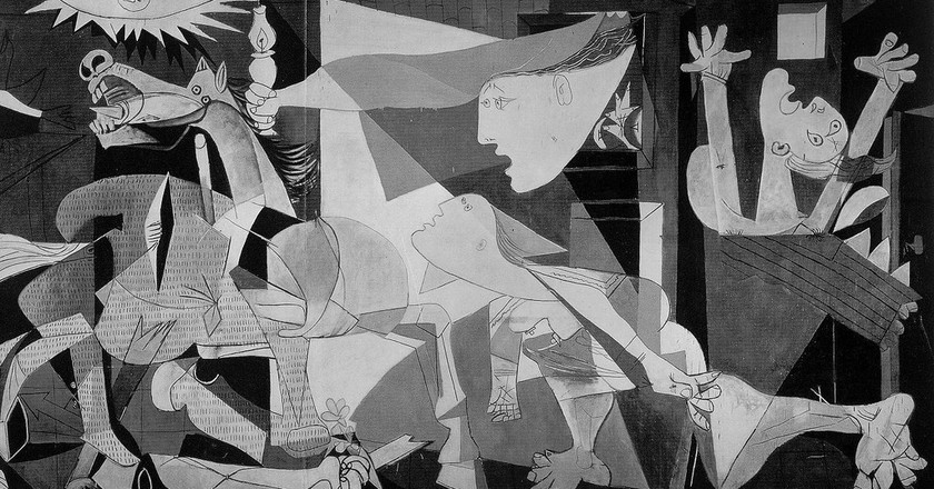 Guernica by Picasso   © Mark Barry / Flickr