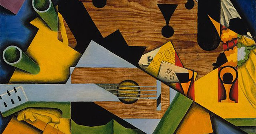 Still Life With a Guitar by Juan Gris   © Jacques and Natasha Gelman Collection, 1998/WikiCommons