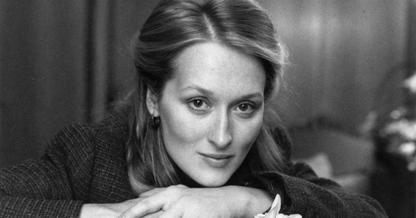 Meryl Streep courtesy of NYPL