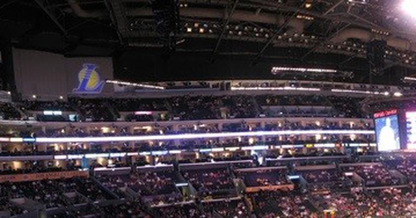 Staples Center Panoramic © Michael Sandoval / Flickr