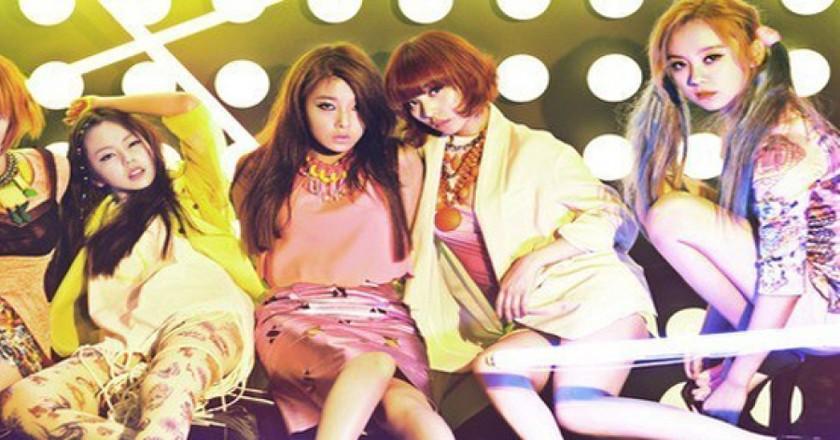Girls barfing naked girls korean group