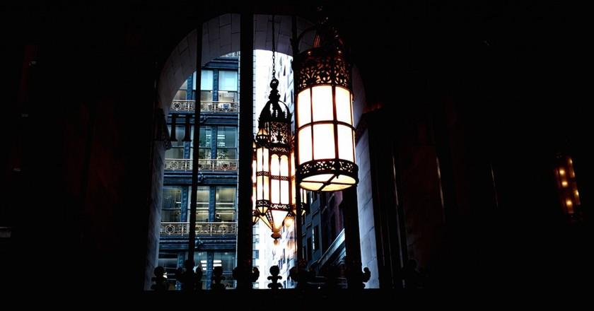 Light shadows at 111 Sutter © Brixton Key