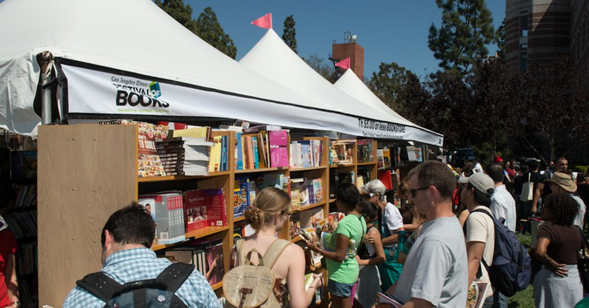 Flip Through The Pages At The Festival Of Books