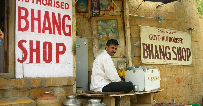 A government Bhaang shop in Jaisalmer  © Tom Maisey/Flickr
