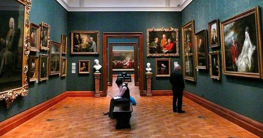 Inside the National Portrait Gallery   © Herry Lawford/WikiCommons
