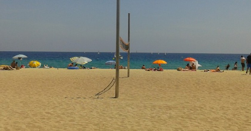 Summer Colors, Barcelona, Beach | Courtesy of Elena Isaeva