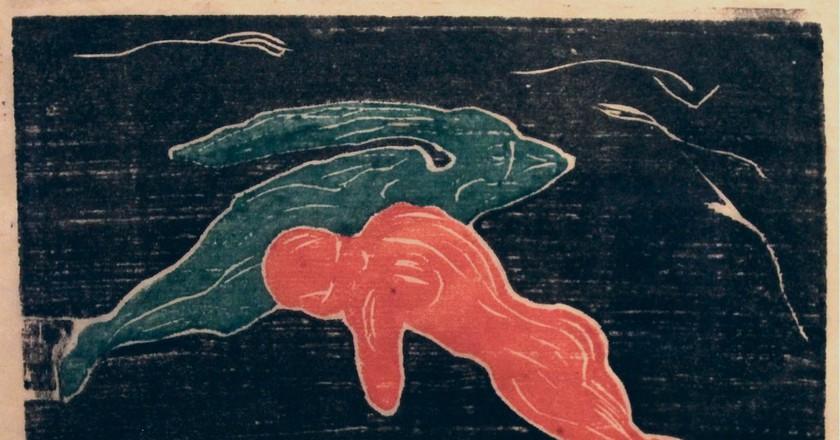 Edvard Munch. Encounter in Space (Møte i verdensrommet). 1898-99   ©  yakovlev.alexey/Flickr